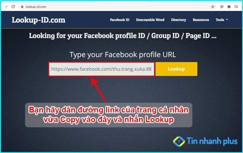 hướng dẫn cách tìm id của facebook mới nhất