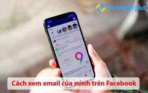 Cách xem email của mình trên Facebook