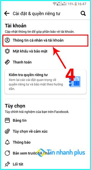 cách xem email facebook bằng điện thoại