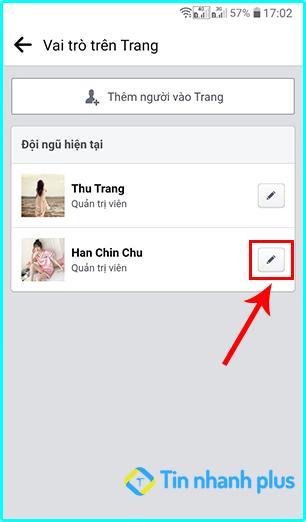 cách tự xóa quyền admin trang fanpage