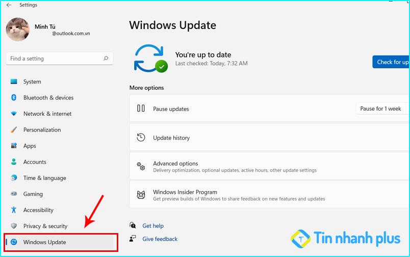 hướng dẫn cập nhật windows lên bản mới nhất