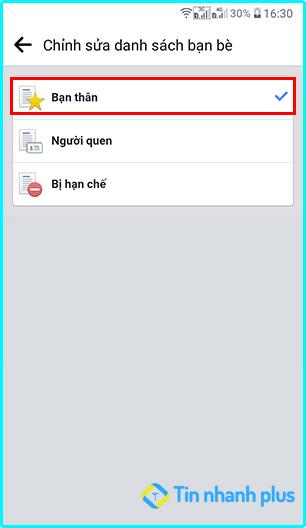 Facebook không hiển thị bài đăng của bạn bè trên điện thoại