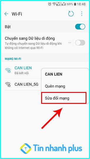 cách thay đổi dns trên điện thoại