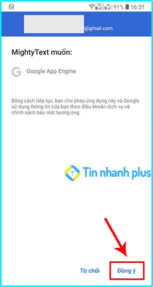 hướng dẫn cách theo dõi tin nhắn trên android bằng ứng dụng Mightytext