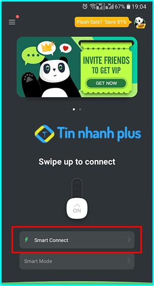 truy cập vào web đen bị chặn bằng PandaVPN Pro