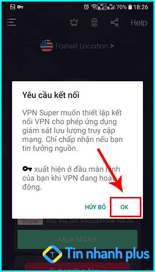 hướng dẫn truy cập vào web đên bằng vpn