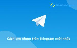 cách tìm nhóm trên telegram