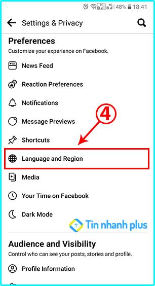 hướng dẫn cách chuyển ngôn ngữ trên Facebook sang vietnammes