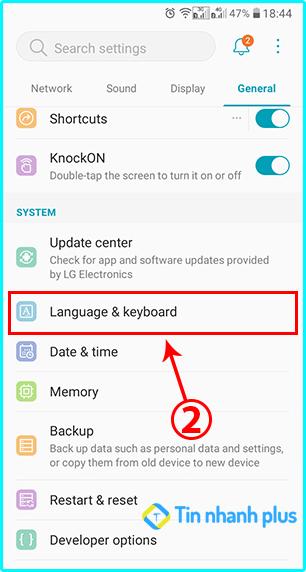 cách đổi ngôn ngữ tiếng việt trên smartphone